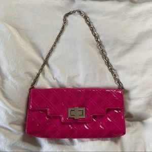 Sondra Roberts Pink Quilted Purse
